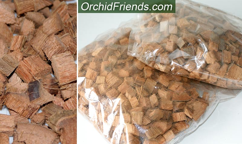 Buying coconut husk chips for orchids